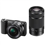 Sony Alpha a6000 Lens Kit with 16-50mm and 55-210mm - B...