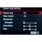 Canon 5D IV C-log firmware upgrade