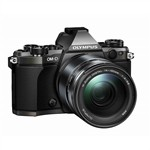 Olympus OM-D E-M5 Mark II Digital Camera with 14-150mm Lens Black
