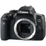 Canon EOS 750D DSLR Camera Body Digital SLR (Camera Lens Kit Box)