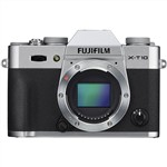Fujifilm X-T10 Mirrorless Digital Camera Body Silver (Camera Lens...