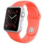 Apple Watch Sport 38mm Silver with Orange Sport
