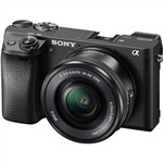 Sony Alpha a6300 with 16-50mm Lens Kit Black Mirrorless Digital C...