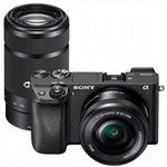 Sony Alpha a6300 Twin Lens Kit with 16-50mm OSS and 55-210mm OSS ...