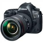 Canon EOS 5D Mark IV DSLR Camera with EF 24-105mm f/4L IS II USM ...