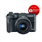Canon EOS M6 BLACK with EF-M 15-45mm Lens Kit Mirrorless Digital ...