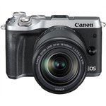 Canon EOS M6 SILVER with EF-M 18-150mm Lens Kit Mirrorless Digita...