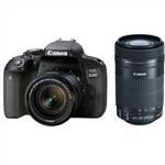 Canon EOS 800D with 18-55mm STM and 55-250mm STM Twin Lens Kit DS...