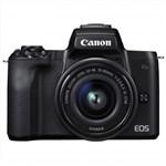 Canon EOS M50 with 15-45mm STM Lens Kit (Black) Mirrorless Digita...