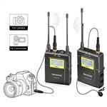 Saramonic UWMIC9 Wireless Microphone (RX9+TX9) 96-Channel Digital...