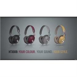 Panasonic RP-HTX80B Wireless Headphones (Grey)