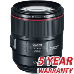 Canon EF 85mm f/1.4L IS USM Lens with 5 Year Warranty