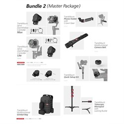 Zhiyun-Tech CRANE 3 LAB Master Package Handheld Stabiliser Gimbal