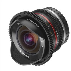 Samyang 8mm T3.1 V-DSLR UMC Fisheye II Sony E-mount