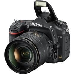 Nikon D750 with AF-S Nikkor 24-120mm F4G ED VR Lens Kit Digital SLR Camera