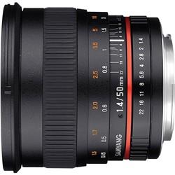 Samyang 50mm f/1.4 AS UMC Lens Canon Mount