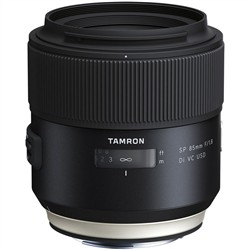 Tamron SP 85mm f/1.8 Di VC USD Lens Canon Mount (Tamron Model F016)