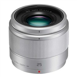 Panasonic Lumix G 25mm f-1.7 Asph (Silver)