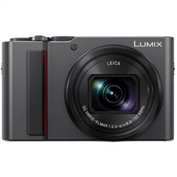 Panasonic Lumix DC-TZ220 Silver (ZS220 Packaging) Digital Compact Camera