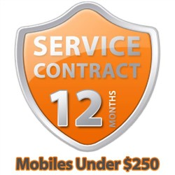 Additional 1 Year Total Care Service Contract For Mobiles Under $250
