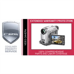 CPS 4 Year International Warranty Video Camera under USD$3000.00 with Accidental Damage cover