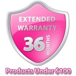 3 Year Warranty Under $100