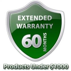 5 Year Warranty Under $1000