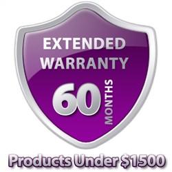 5 Year Warranty Under $1500