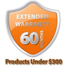 5 Year Warranty Under $300