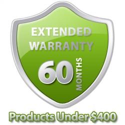 5 Year Warranty Under $400
