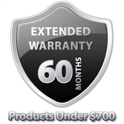 5 Year Warranty Under $700