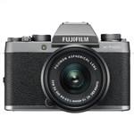 FUJIFILM X-T100 with 15-45mm Lens (Dark Silver) Mirrorl...