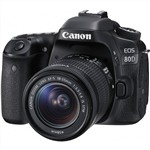 Canon EOS 80D Camera with EF-S 18-55mm IS STM Lens Kit ...
