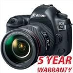 Canon EOS 5D Mark IV with EF 24-105mm f/4L IS II USM Le...