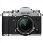 Fujifilm X-T3 18-55mm Lens Kit (Silver) Mirrorless Digi...