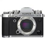 Fujifilm X-T3 Mirrorless Digital Camera (Body Only, Sil...