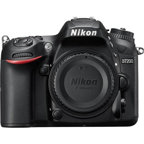 Nikon D7200 DSLR Camera Body Digital SLR