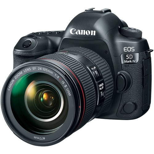 Canon EOS 5D Mark IV with EF 24-105mm f/4L IS II USM Lens Kit DSLR Camera