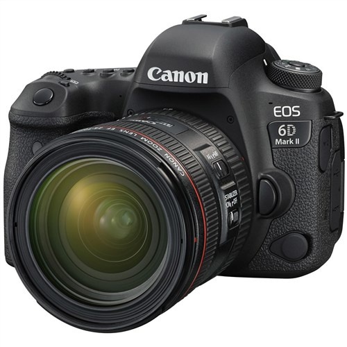 Canon EOS 6D Mark II with 24-70mm f/4L IS USM Lens Advance Kit DSLR Camera