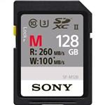 Sony 128GB M Series UHS-II SD SDXC Memory Card (U3)