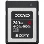 Sony 240GB XQD Memory Card G Series 440mb/s Read 400mb/s Write