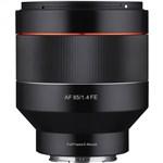 Samyang AF 85mm F1.4 Lens Sony FE E Mount