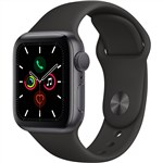 Apple Watch 5 40mm Gray W-Black Sport Band(V82)