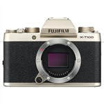 FUJIFILM X-T100 body (Champagne Gold) Mirrorless Digital Camera