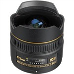 Nikon AF DX 10.5mm f/2.8G ED Fisheye-Nikkor Lens International Wa...
