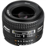 Nikon AF NIKKOR 28mm f/2.8D Lens International Warranty