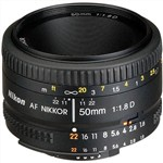 Nikon AF Nikkor 50mm f/1.8D Lens International Warranty