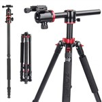 Tripod Monopod with Ball Head and Transverse Centre Column For C...