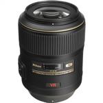 Nikon AF-S 105mm f/2.8G IF-ED VR Micro-NIKKOR Lens (Nano Crystal ...