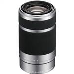 Sony E 55-210mm F4.5-6.3 OSS E-Mount Lens Silver